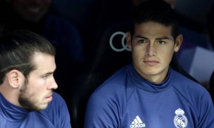 Gareth Bale y James Rodríguez ya no cuentan para el técnico del Real Madrid, Zinedine Zidane.