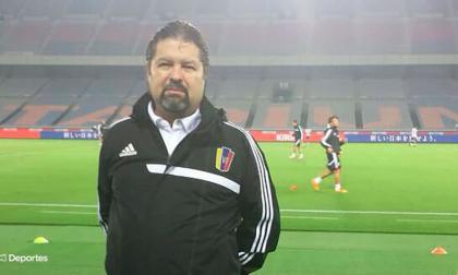 Jesús Berardinelli, presidente de la Federación Venezolana de Fútbol.