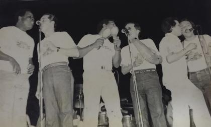 Hace 40 años el cielo currambero se iluminó con las estrellas de la Fania