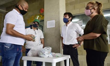 Estudiantes de Barranquilla y el Atlántico reciben alimentos en casa