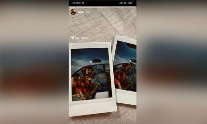 Christian Nodal confirma su relación con Belinda con una romántica imagen