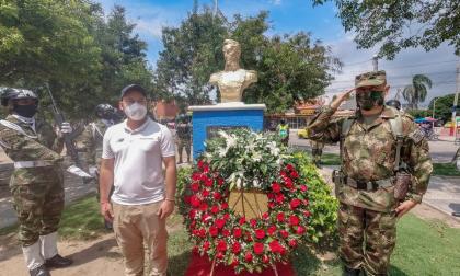 Segunda Brigada conmemora los 201 años del nacimiento del Ejército Nacional