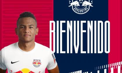 César Haydar fue presentado así a través de las redes sociales del Red Bull Bragantino.