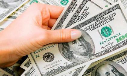 Valorización del dólar en Colombia se fortalece y se ubica en $3.753