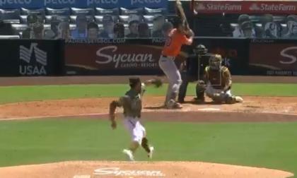 En video | Luis Patiño se sobró ante los Astros