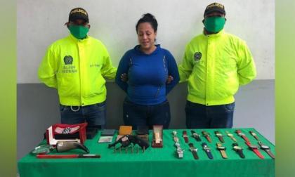 Ana Yépez Rodríguez fue arrestada en abril, señalada de estar implicada en el hurto a una casa en el norte de Barranquilla