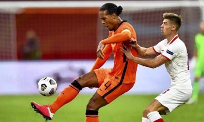 Virgil van Dijk fungió como capitán de la 'Naranja Mecánica'.