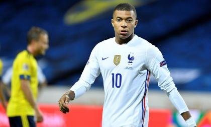 Kylian Mbappé marcó el único del partido entre Francia y Suecia.