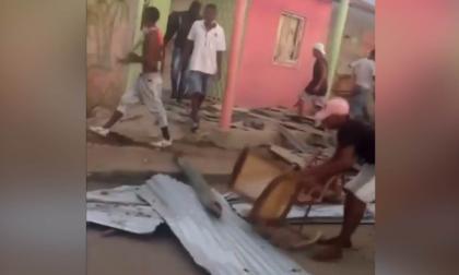 Destruyen dos casas en Repelón tras un sepelio