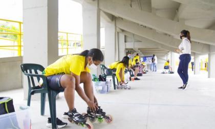 """Reabierta la pista de patinaje """"Jercy Puello"""" de Cartagena"""