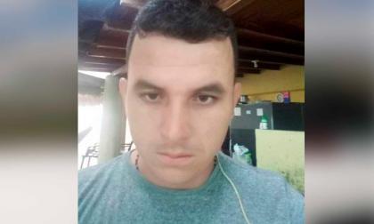Yoni Alexander Valdés García, herido.