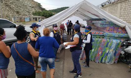 Declaran calamidad pública por alud en cerro de Santa Marta