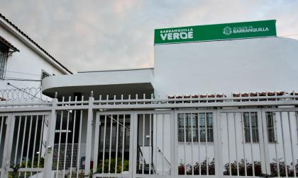 Fachada de la sede de Barranquilla Verde, la entidad que cumple las funciones de autoridad ambiental.