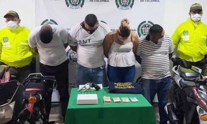 Policía desarticula banda 'los Cocodrilos'