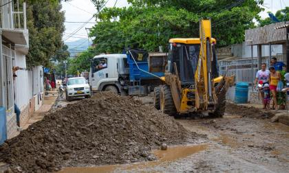 Retiran más de 200 toneladas de sedimentos de las calles de Santa Marta