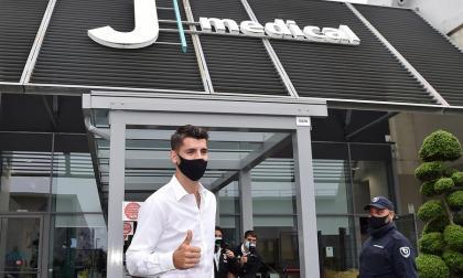 Álvaro Morata pasó los exámenes médicos y es, oficialmente, nuevo jugador de la Juventus.