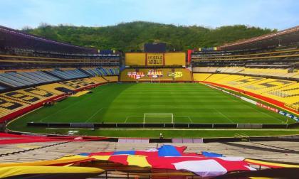 El estadio Monumental isidro Romero, casa del Barcelona de Guayaquil.