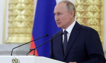 Proponen a Vladimir Putin para el premio Nobel de la Paz de 2021