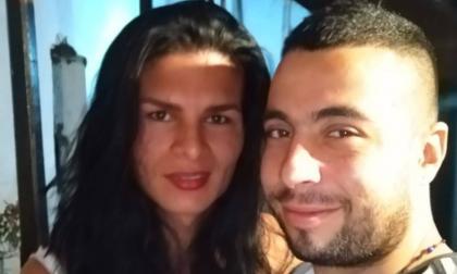 Juliana Giraldo, la víctima, y su esposo Francisco Larrañaga.