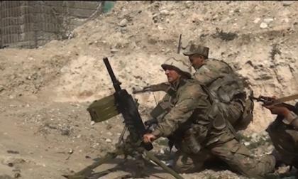 Intensos combates por la noche y la mañana en Nagorno Karabaj