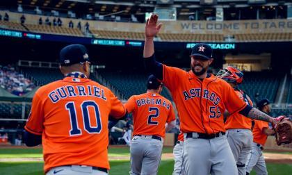 En video | Astros superan a los Mellizos y avanzan a la Serie Divisional