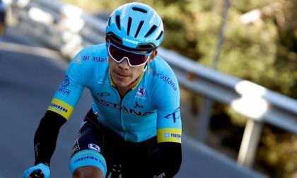 Miguel Ángel 'Supermán' López, ciclista del Astana.