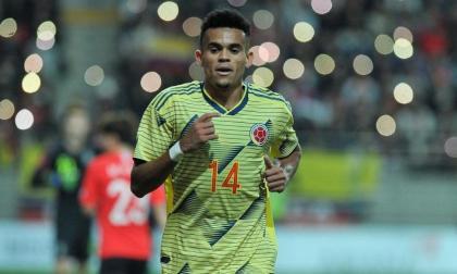 Luis Díaz es reemplazado por Jhon Córdoba en la Selección Colombia