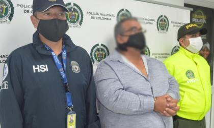 Alias 'el Gordo' fue mostrado por la Policía Metropolitana.