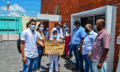 Con plantón piden liberación del docente secuestrado en La Guajira