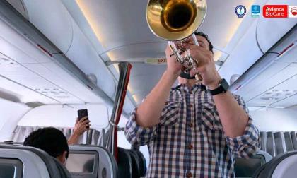 """""""En concierto de Avianca usamos instrumentos que no esparcen gotas de saliva"""""""