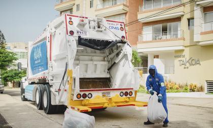 Triple A cambia ocho rutas de recolección de basura en Barranquilla