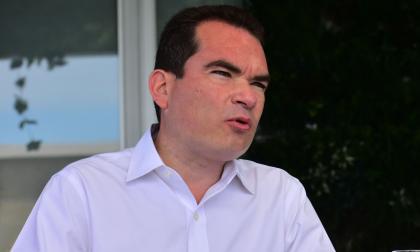 Tomás Guanipa, embajador del gobierno interino de Venezuela en Colombia.