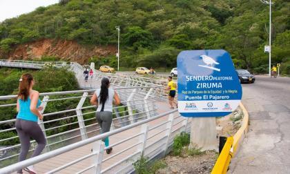 Inician segunda fase del sendero peatonal Ziruma - El Rodadero