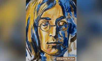 80 velitas para John Lennon