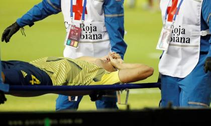 Santiago Arias sufre grave lesión