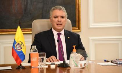Este viernes no habrá programa del presidente Duque por partido de Colombia