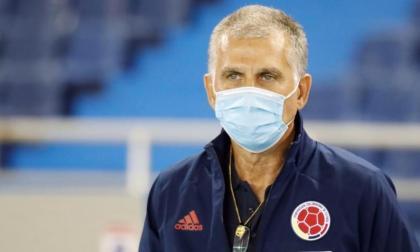 Carlos Queiroz dirigió su primer partido de eliminatorias con la Selección Colombia.