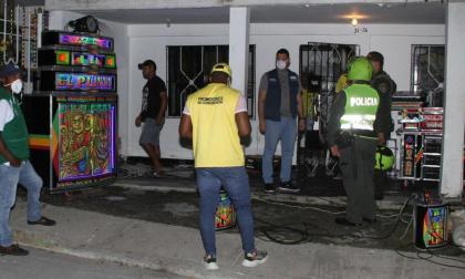 150 fiestas fueron apagadas durante el partido de Colombia