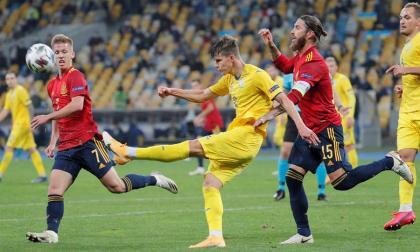 Ucrania sorprendió a España y venció 1-0 a los comandados por Luis Enrique.