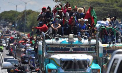 Crece la versión sobre el traslado de la Minga a Bogotá
