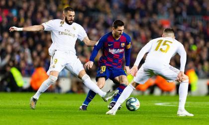 El primer Clásico de la temporada se jugará sin fanáticos, en Barcelona.
