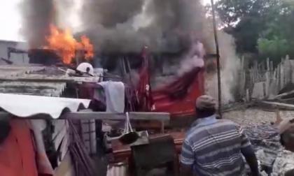 En video   Siete incendios de viviendas en seis días en Cartagena