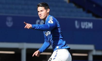 James Rodríguez ha sido uno de los jugadores más destacados en el Everton, actual líder de la Premier League.