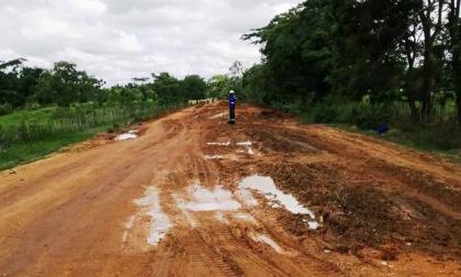 Veeduría pide dar por terminado el contrato de la vía Las Tablitas, en Sucre
