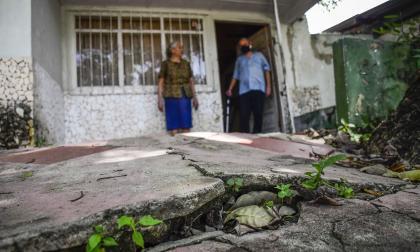 SOS por deslizamientos en el barrio Las Terrazas