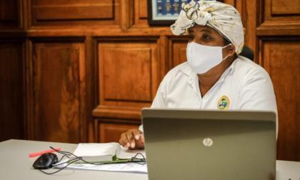 Cinthya Pérez Amador, asesora y primera dama de Cartagena.