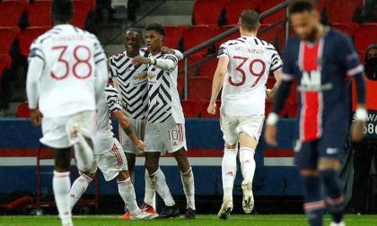 Manchester United saca la casta en casa del PSG