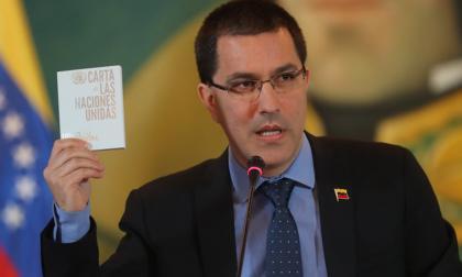 """Bla, bla, Venezuela, bla, bla, OEA"": Arreaza se burla de Colombia"