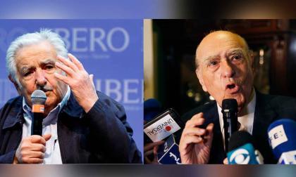 Los expresidentes de Uruguay Sanguinetti y Mujica renuncian al Senado