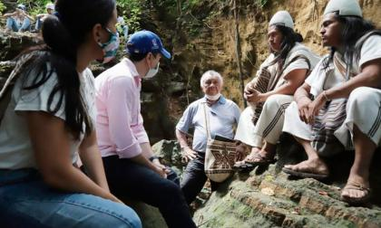 Buscan potencializar atractivo turístico de 'Piedra Pintada' en Tubará